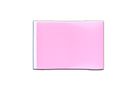 Fanion rectangulaire Rose - 10 x 15 cm