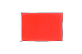 Fanion rectangulaire Rouge - 10 x 15 cm