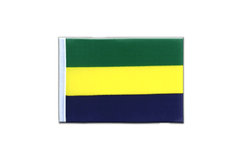 Gabon - Mini Flag 4x6""