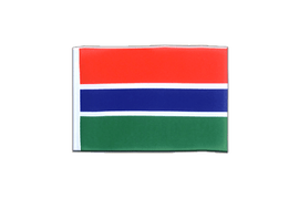 Gambia - Mini Flag 4x6""