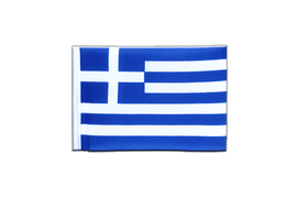 Greece - Mini Flag 4x6""