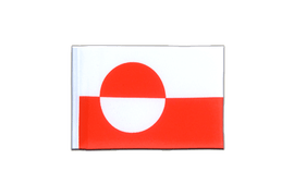Greenland - Mini Flag 4x6""