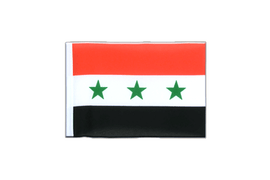 Iraq without writing 1963-1991 - Mini Flag 4x6""