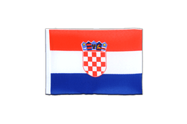 Croatia - Mini Flag 4x6""