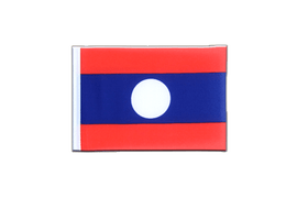 Laos - Mini Flag 4x6""