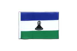 Lesotho new - Mini Flag 4x6""