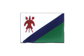 Fanion rectangulaire Lesotho ancien - 10 x 15 cm