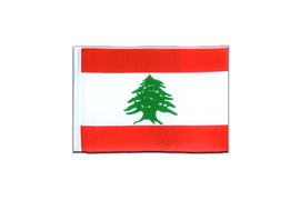 Lebanon - Mini Flag 4x6""