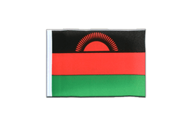 Fanion rectangulaire du Malawi ancien - 10 x 15 cm