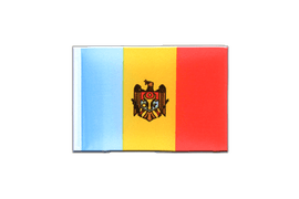 Moldova - Mini Flag 4x6""