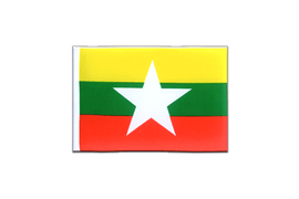 Myanmar new - Mini Flag 4x6""
