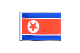 Mini North corea Flag - 4x6""