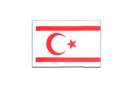 North Cyprus - Mini Flag 4x6""