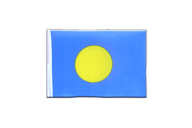 Mini Flag Palau - 4x6""