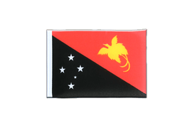 Mini Flag Papua New Guinea - 4x6""