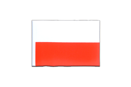 Mini Flag Poland - 4x6""