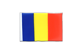 Rumania - Mini Flag 4x6""