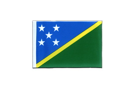 Solomon Islands - Mini Flag 4x6""