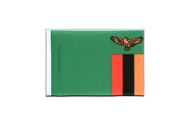 Zambia - Mini Flag 4x6""