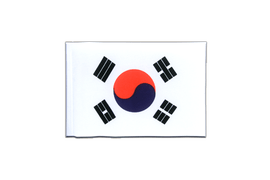 Mini South Korea Flag - 4x6""