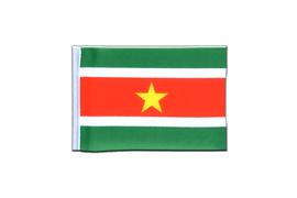 Suriname - Mini Flag 4x6""