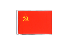 USSR Soviet Union - Mini Flag 4x6""
