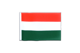 Hungary - Mini Flag 4x6""