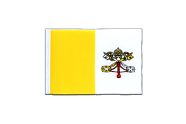 Vatican - Mini Flag 4x6""