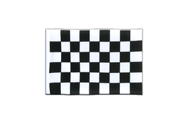 Checkered - Mini Flag 4x6""