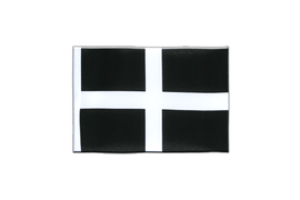 Mini St. Piran Cornwall Flag - 4x6""