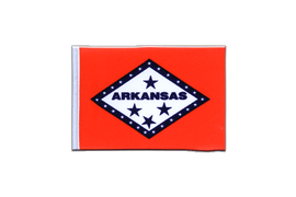 Arkansas - Mini Flag 4x6""