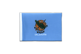 Oklahoma - Mini Flag 4x6""