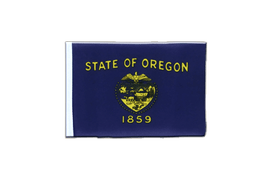 Oregon - Mini Flag 4x6""