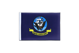 Fanion rectangulaire US Navy - 10 x 15 cm