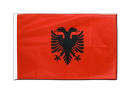 Albania - Sleeved Flag PRO 2x3 ft