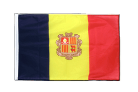 Andorra - Sleeved Flag PRO 2x3 ft