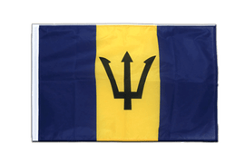 Barbados - Sleeved Flag PRO 2x3 ft