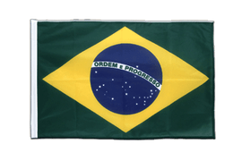 Brazil - Sleeved Flag PRO 2x3 ft