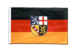 Sleeved Saarland Flag PRO - 2x3 ft