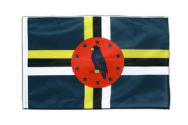 Dominica - Sleeved Flag PRO 2x3 ft