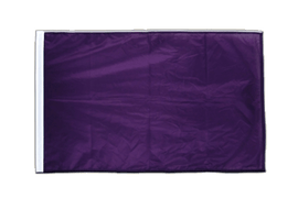 Purple - Sleeved Flag PRO 2x3 ft