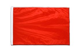 Red - Sleeved Flag PRO 2x3 ft