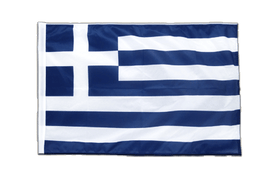 Greece - Sleeved Flag PRO 2x3 ft