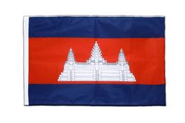 Cambodia - Sleeved Flag PRO 2x3 ft