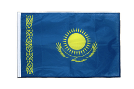 Kazakhstan - Sleeved Flag PRO 2x3 ft