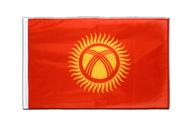 Kyrgyzstan - Sleeved Flag PRO 2x3 ft