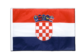 Croatia - Sleeved Flag PRO 2x3 ft