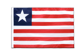 Liberia - Sleeved Flag PRO 2x3 ft