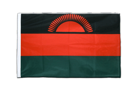Malawi new - Sleeved Flag PRO 2x3 ft