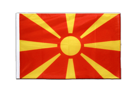 Macedonia - Sleeved Flag PRO 2x3 ft